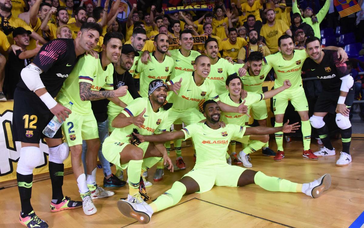 TTG Ugra Yugorsk - Barça Lassa: ¡Hacia la Final Four! (0-2)