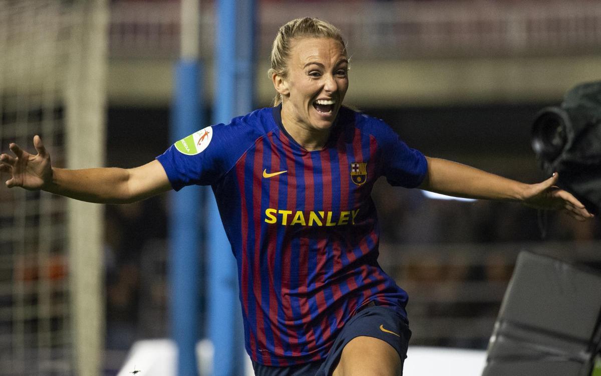 Barça Femenino - Atlético de Madrid: Duggan culmina la remontada (2-1)