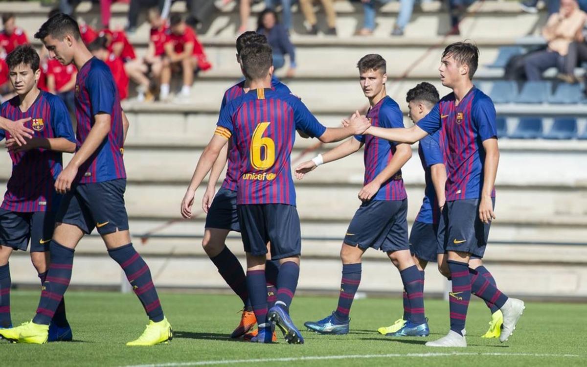 RCD Espanyol – Juvenil B: Victòria al derbi amb remuntada (1-2)