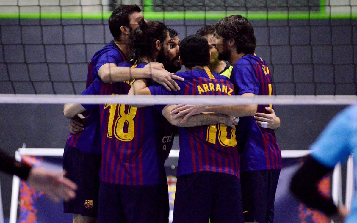 El Barça cae en casa ante el Illa Grau mientras que el CVB Barça supera el Palmas y se mantienen terceras