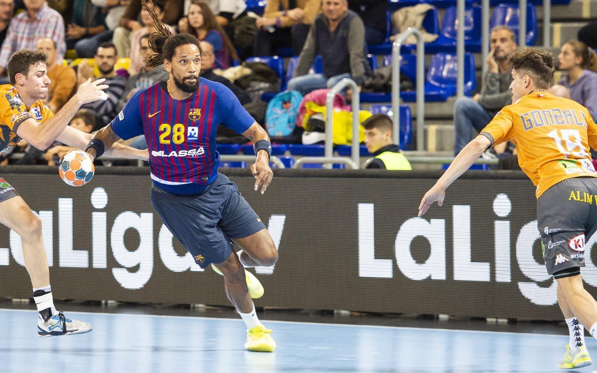 Barça Lassa - Abanco Ademar León: Victoria con una gran segunda mitad (37-29)