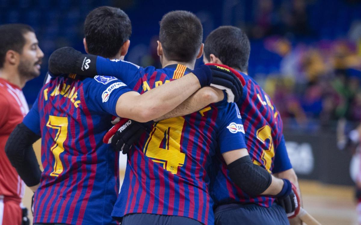 Barça Lassa – Citylift Girona: Premi a la insistència blaugrana (3-0)