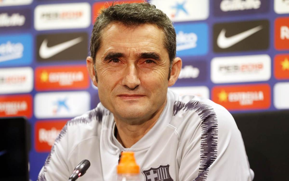 """Ernesto Valverde: """"L'Atlètic de Madrid comença els partits molt fort"""""""
