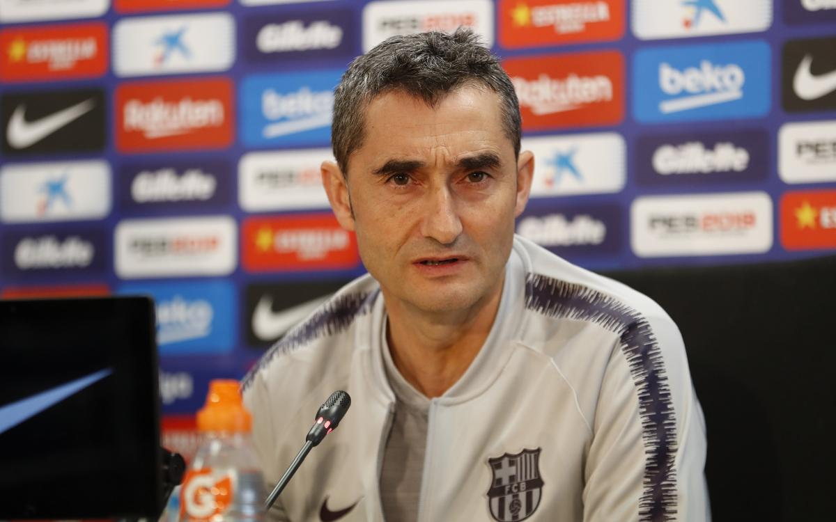 Ernesto Valverde: 'Atletico Madrid start games very strong'