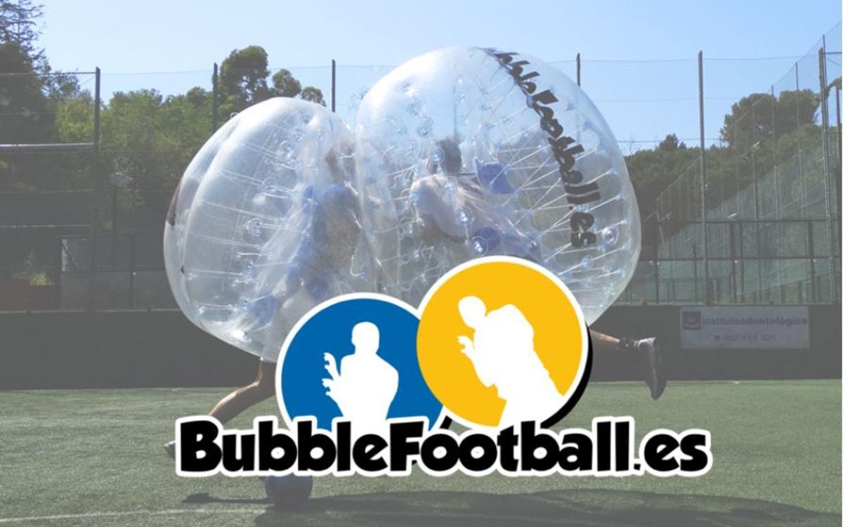 Bubble Football, una manera diferent de jugar a futbol!