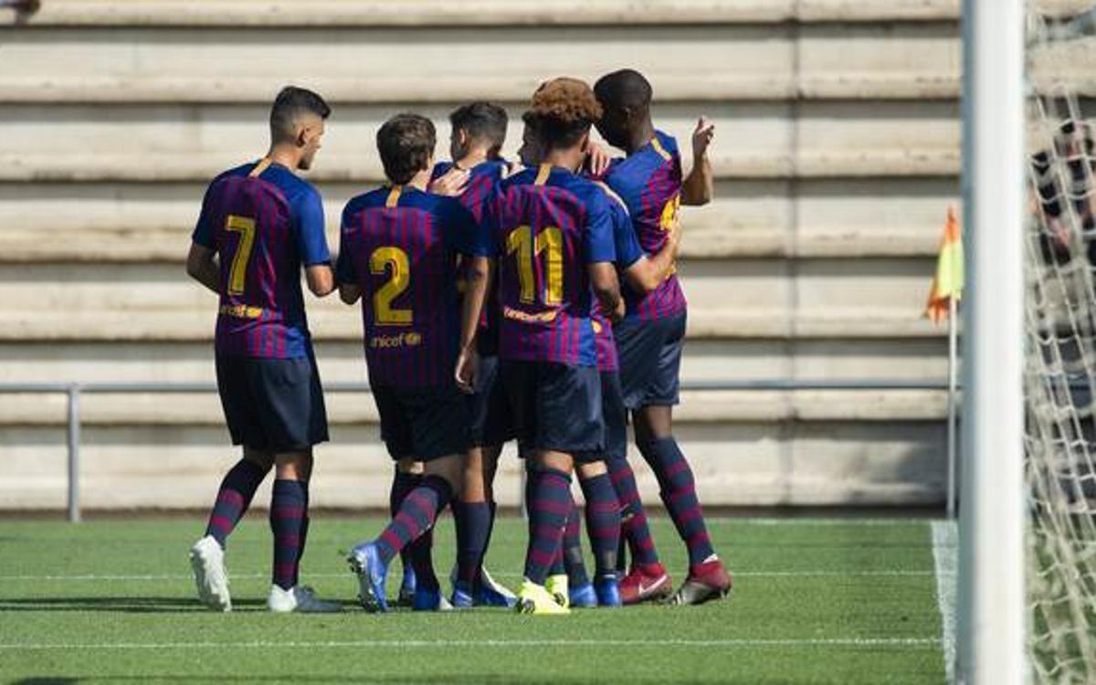 Girona - Juvenil A: Victoria en un campo complicado (1-3)