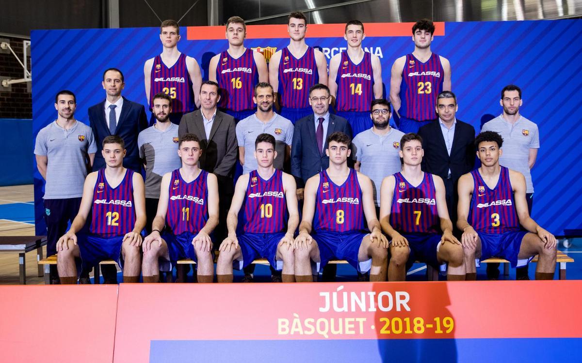 El Junior en el Torneo de L'Hospitalet