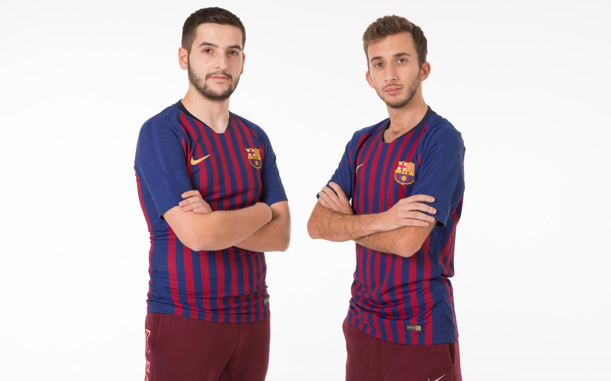 Pau Lara and Alex Alguacil to represent FC Barcelona in eFootball.Pro league