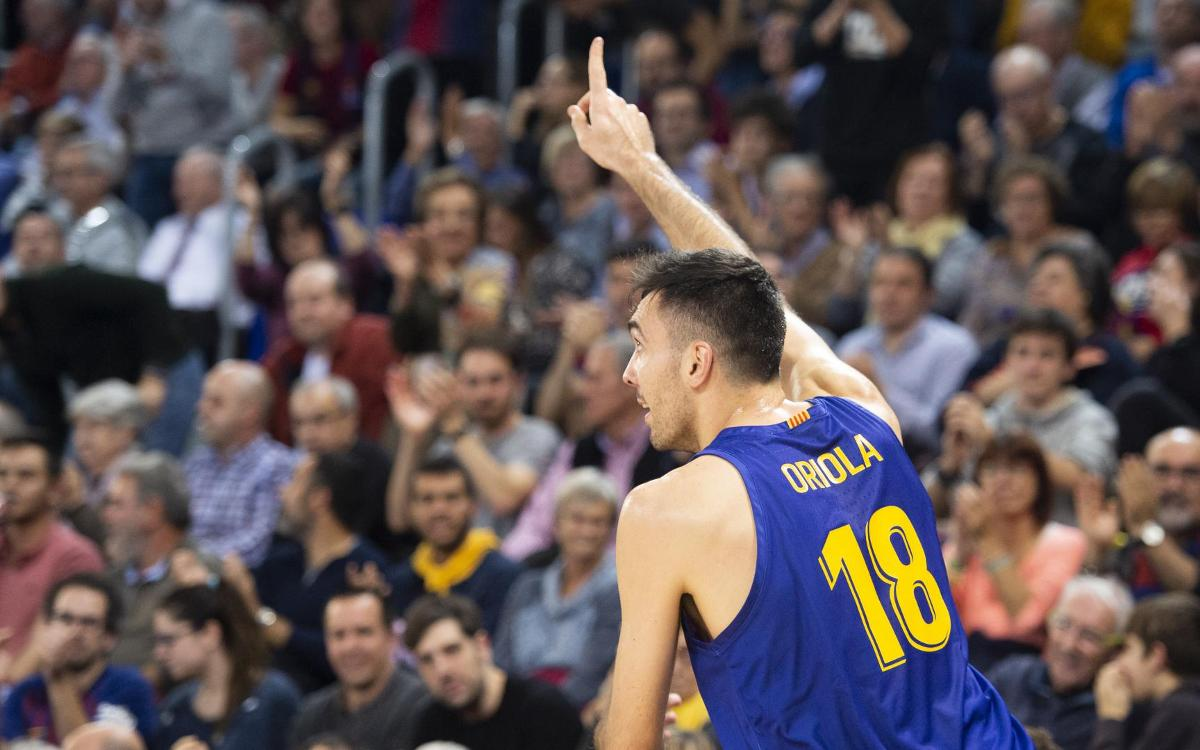 Barça Lassa 86-69 Real Madrid: Clásico victory and top of the league