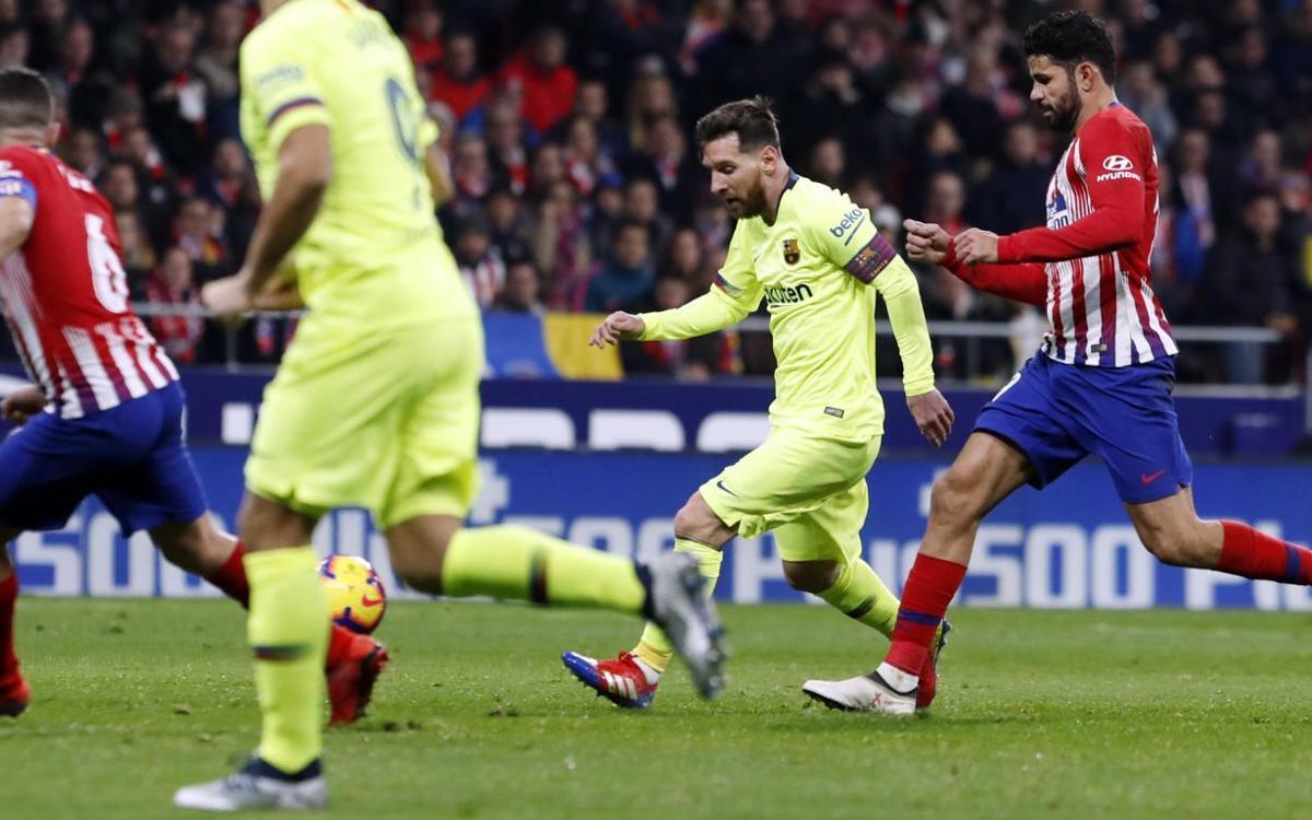 Vidéo - Les moments forts de Atlético - Barça (1-1)