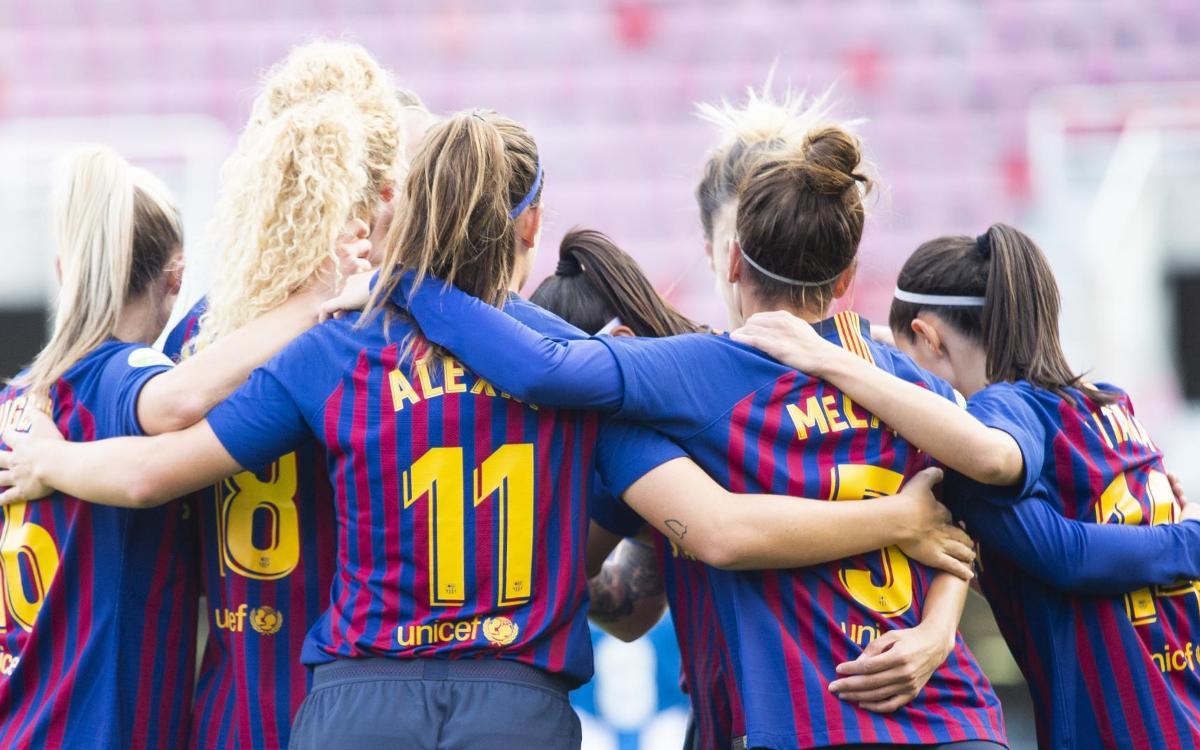 FC Barcelona – RCD Espanyol: Victòria al derbi i cap als quarts! (2-0)
