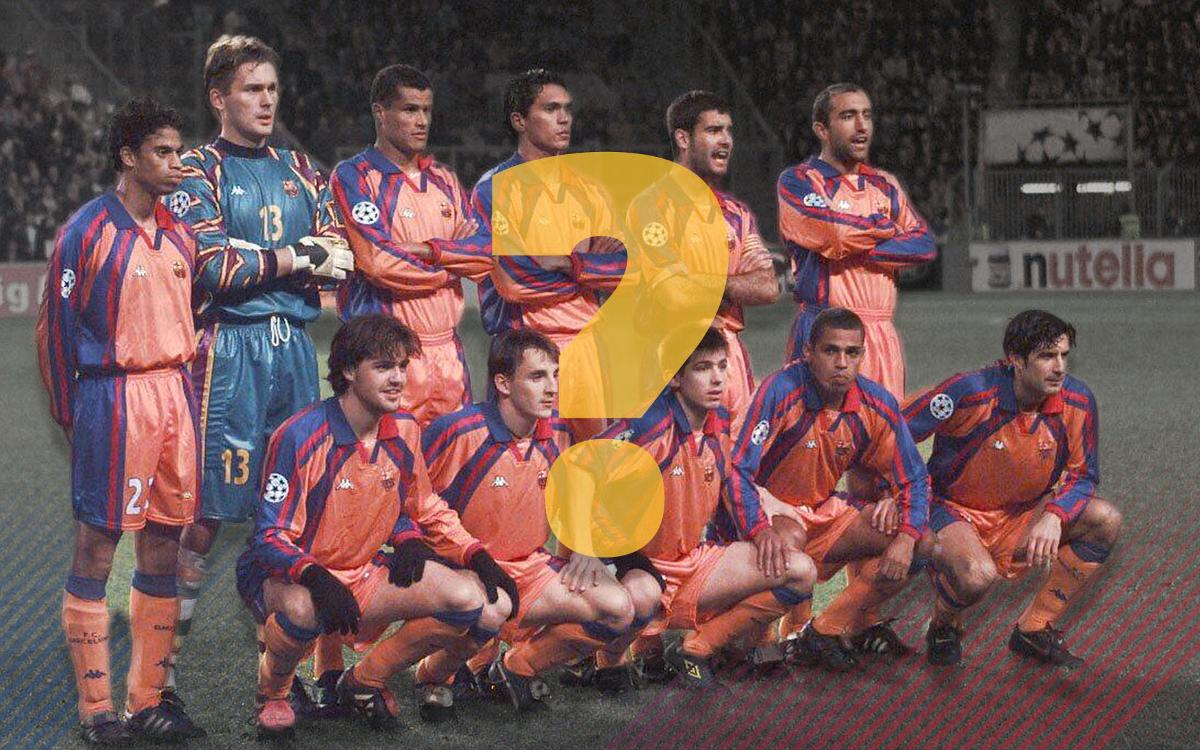 The FC Barcelona starting XI last time we were in Eindhoven