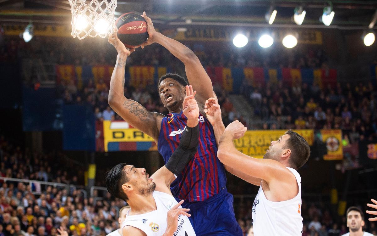 El rebote, una de las claves del buen momento del Barça Lassa