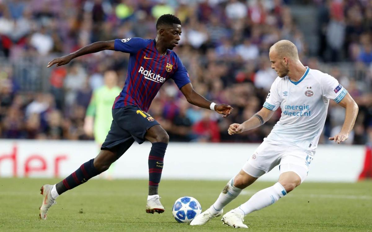 プレビュー: PSV アイントホーフェン vs FC バルセロナ