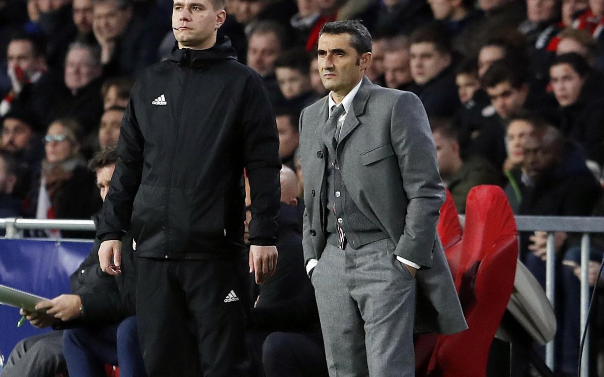 Table toppers: Valverde and his players reflect on a job well done