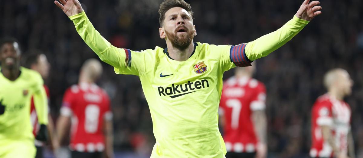 Leo Messi est leader du classement des buteurs de la Ligue des Champions avec 6 buts en 5 rencontres
