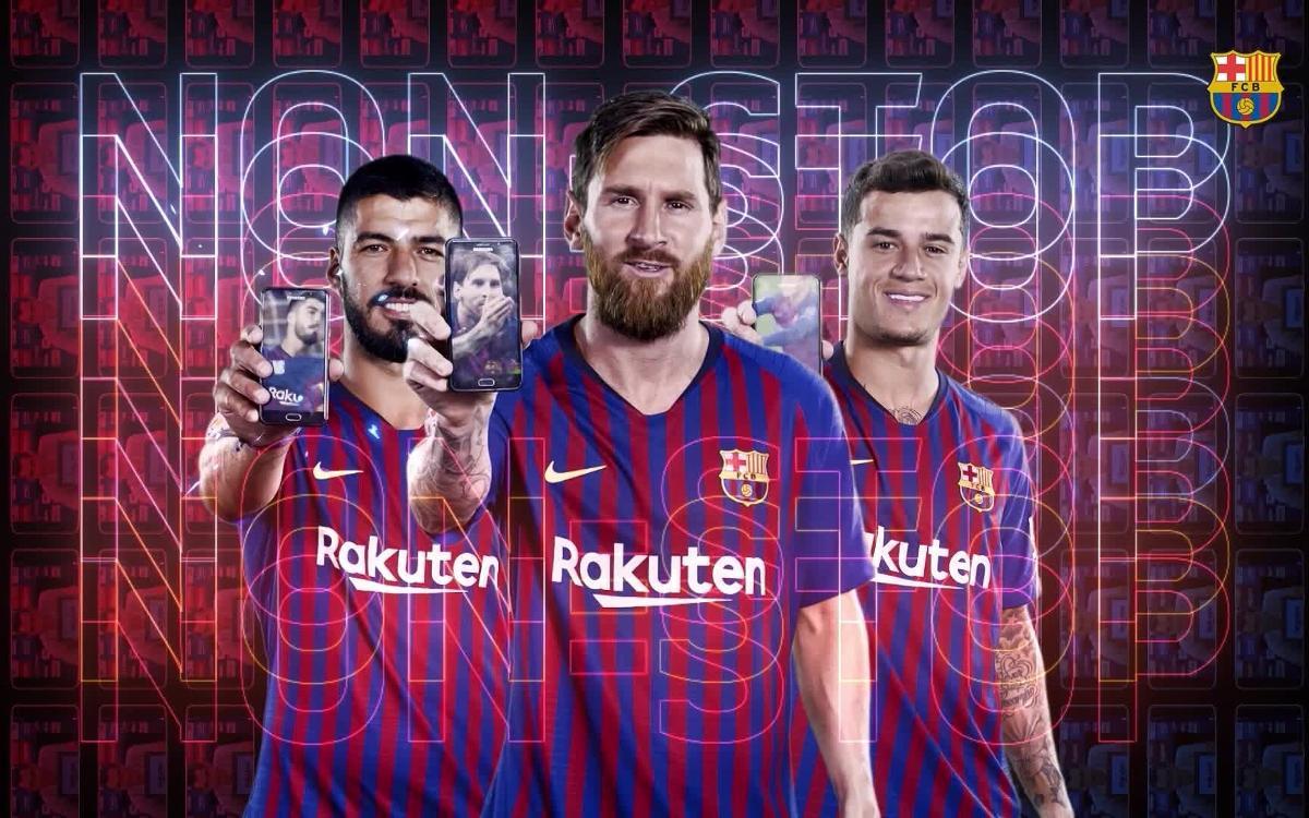 Le FC Barcelone lance un nouveau site et une nouvelle application