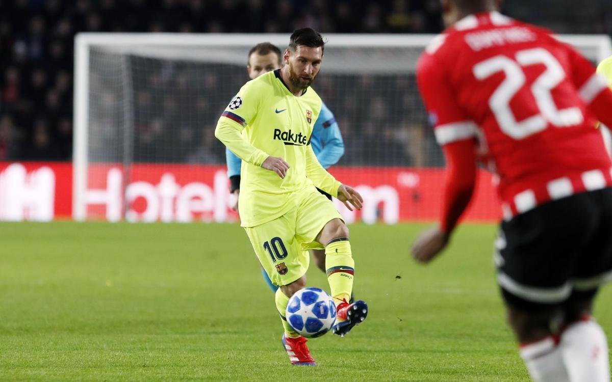 """Messi: """"Hemos cumplido el objetivo de ser primeros"""""""