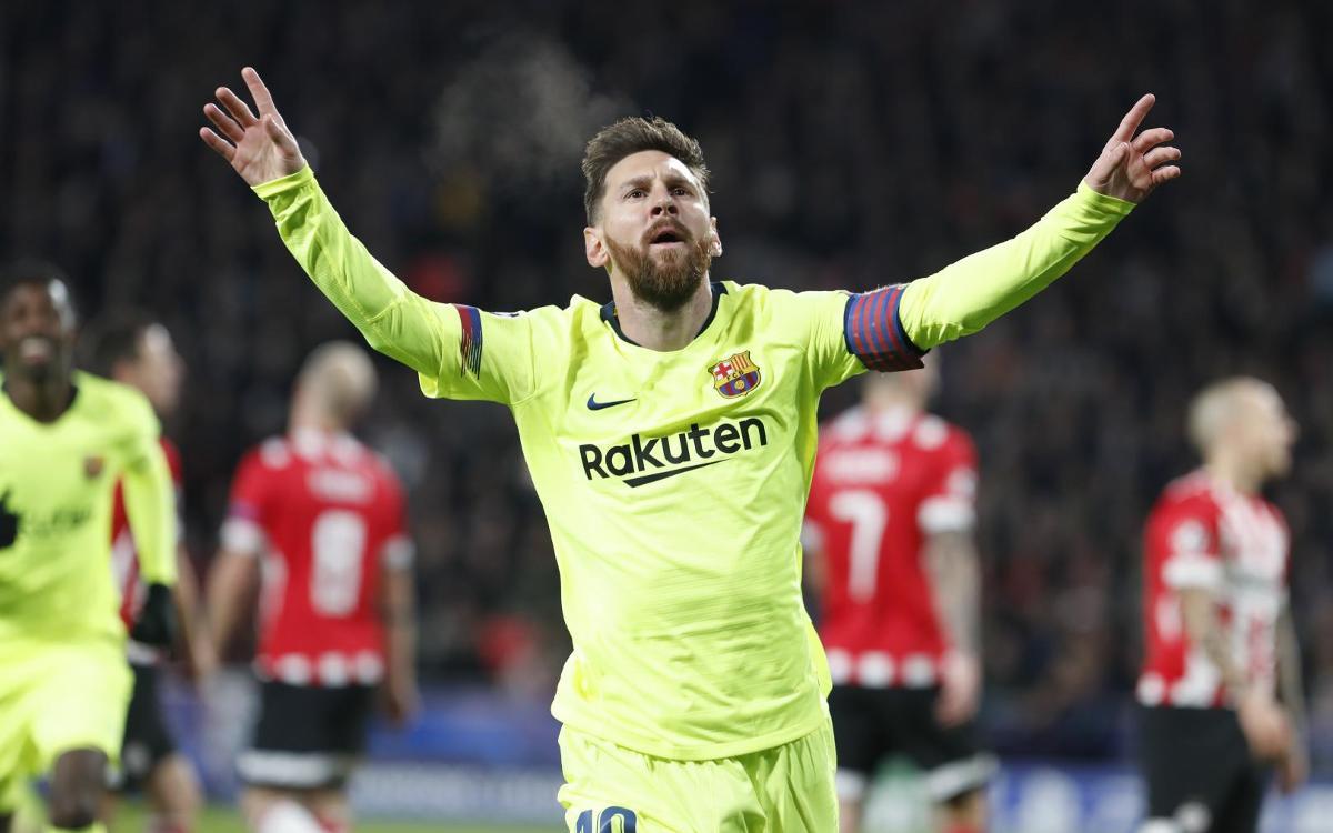PSV Eindhoven – Barça : Le roi offre le trône au Barça (1-2)