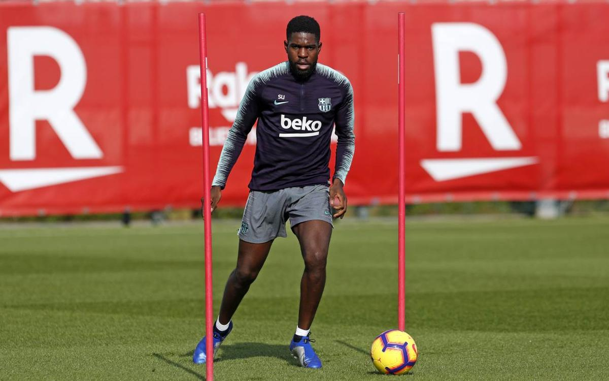 Samuel Umtiti injury news