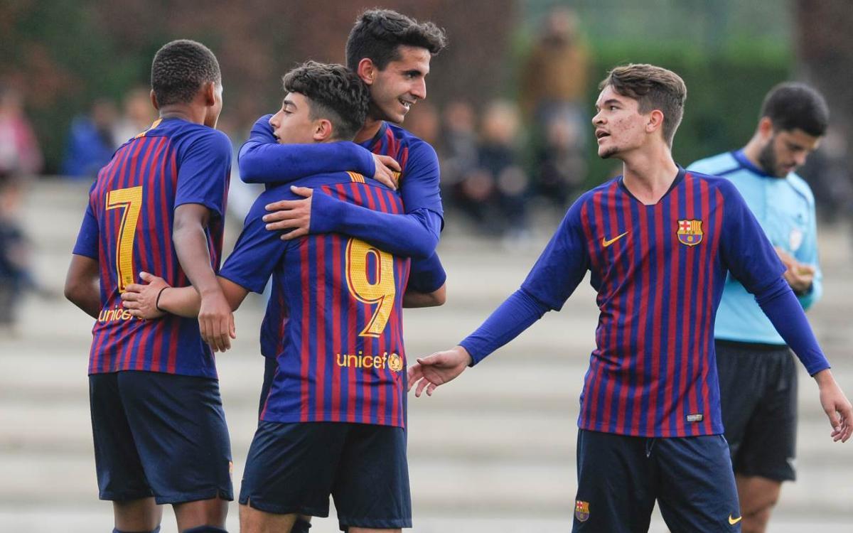 Escola F. Gironès-Sàbat – Juvenil B: Cinquena victòria consecutiva (0-4)