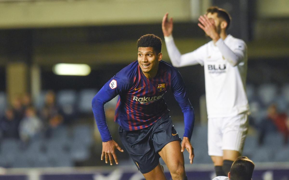 Barça B – Valencia Mestalla: Last second draw (2-2)
