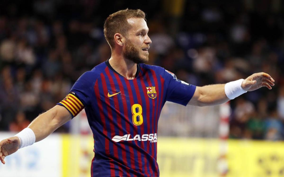 Barça Lassa – HC Meshkov Brest: Ninth consecutive victory in Europe! (41-32)