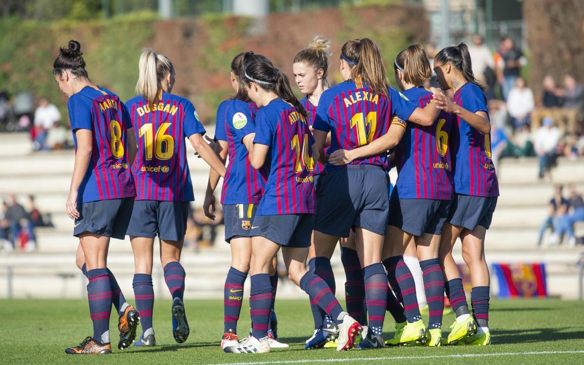 Barça - UD Granadilla Tenerife: Victoria ante un rival complicado (3-0)