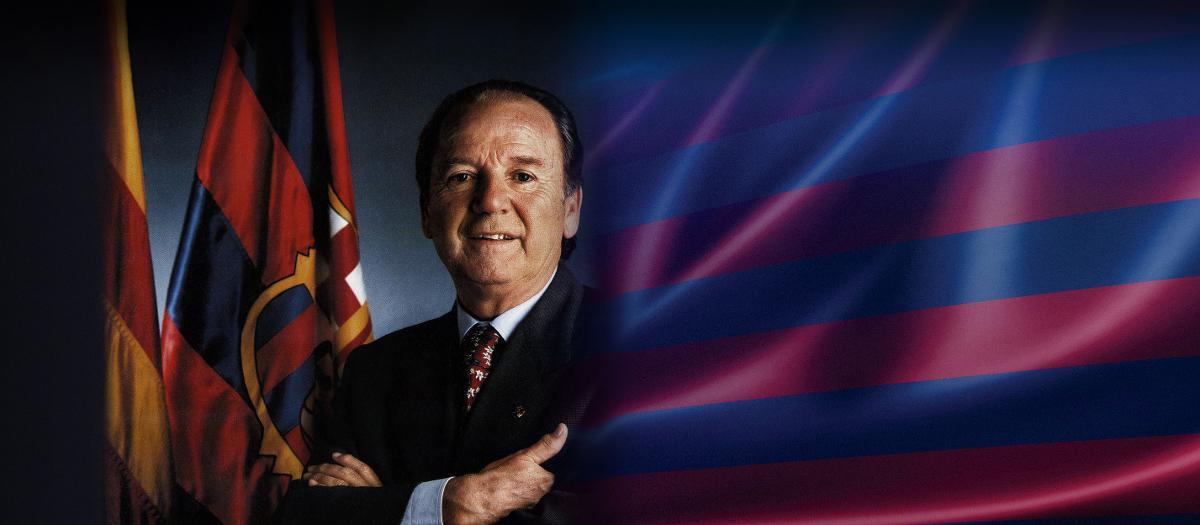 Mor l'expresident Josep Lluís Núñez