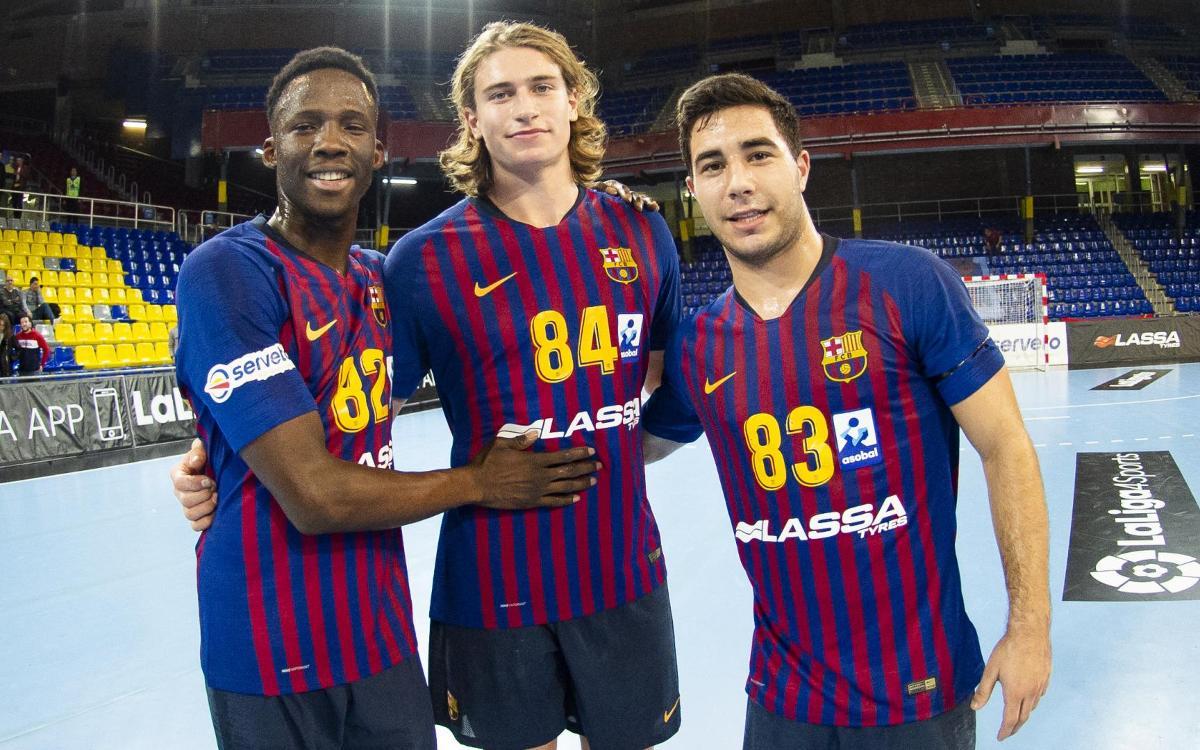 Mamadou Diocou, Alex Pascual y Juri Knorr debutan con el primer equipo