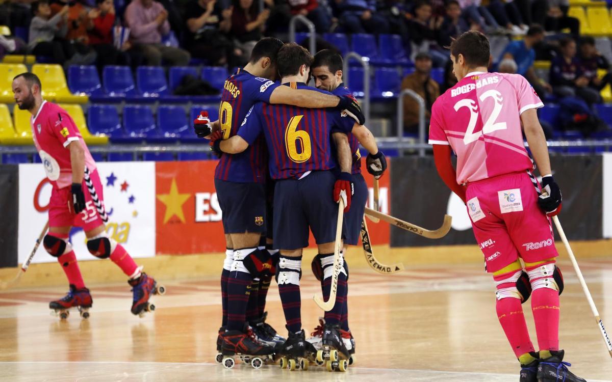 Barça Lassa - Igualada Rigat: ¡Victoria para seguir líderes! (7-2)