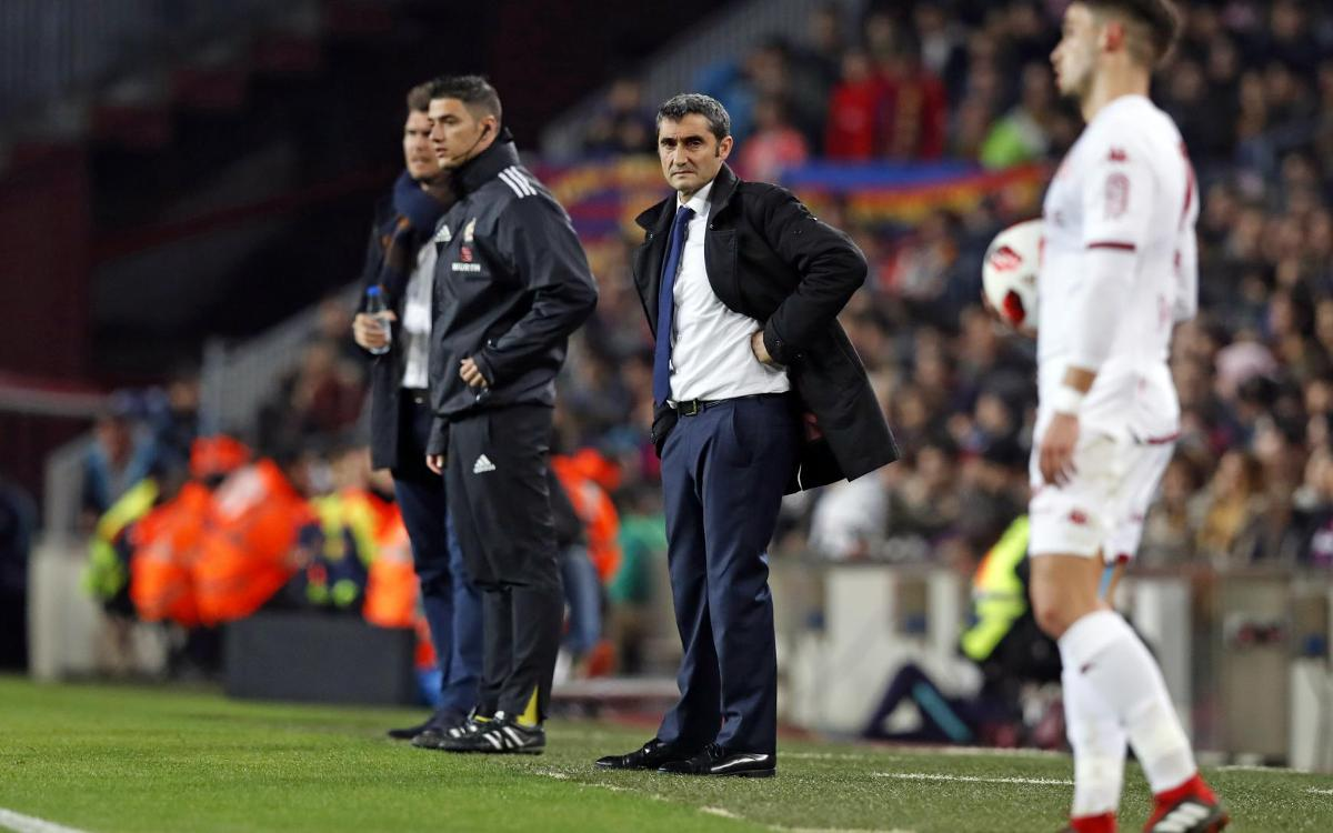 Valverde: 'B team players did great'