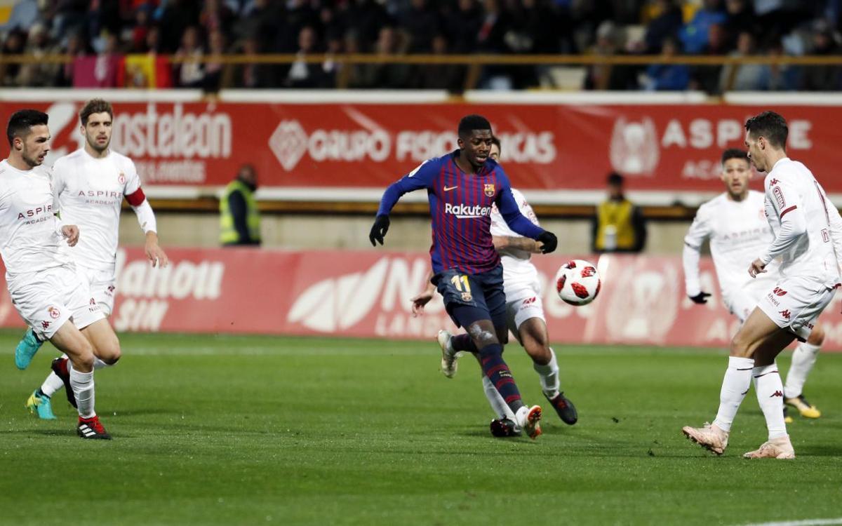 MATCH PREVIEW: FC Barcelona vs Cultural Leonesa