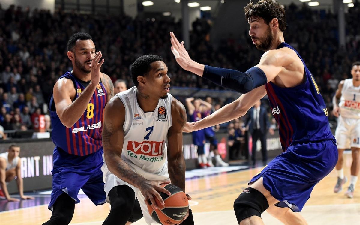 MATCH REPORT: Buducnost Voli 67–64 Barça Lassa