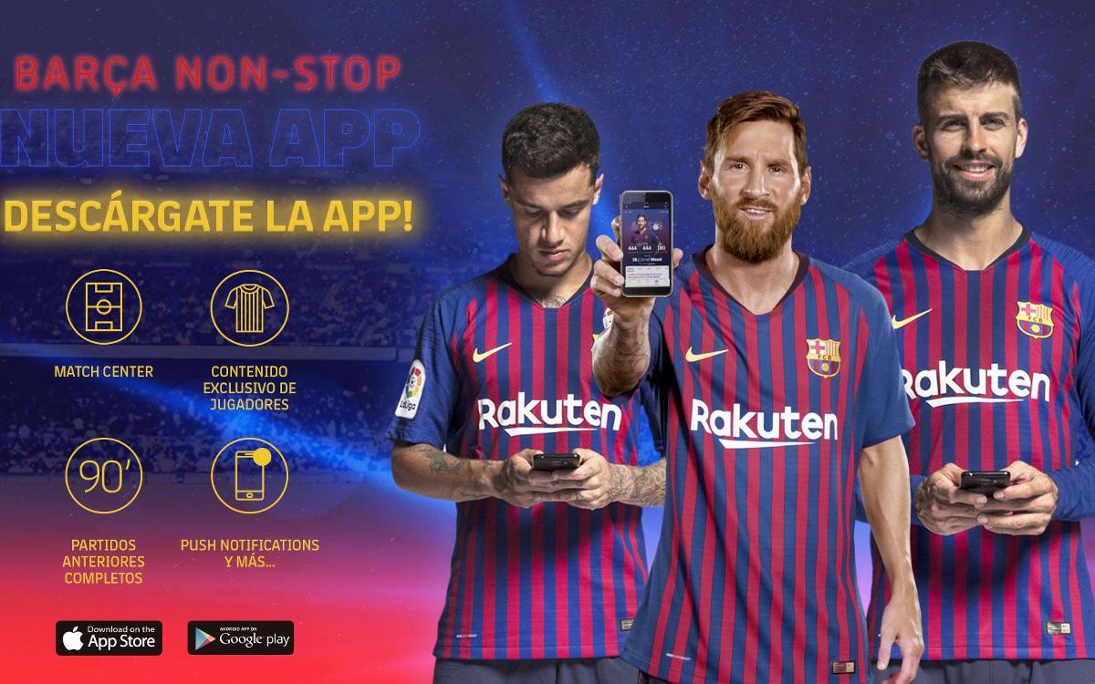 El FC Barcelona estrena web y app, ejes de la nueva estrategia digital del Club
