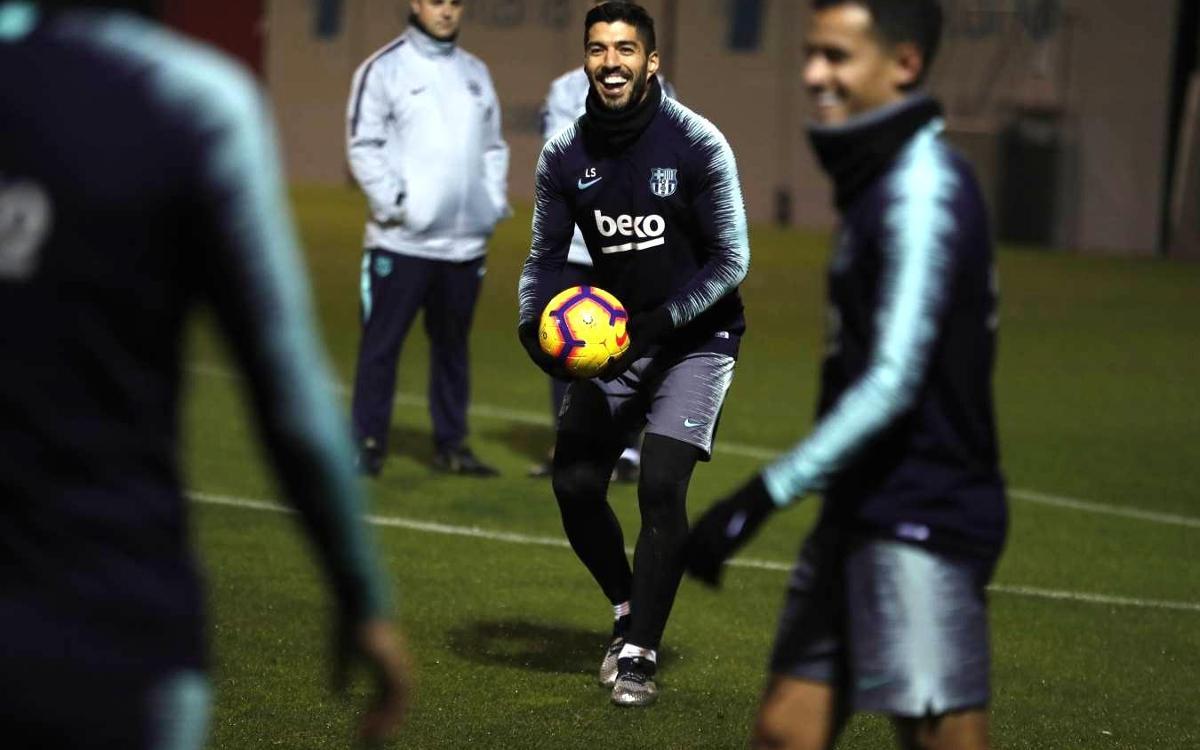 Luis Suarez est dans le groupe contre l'Espanyol
