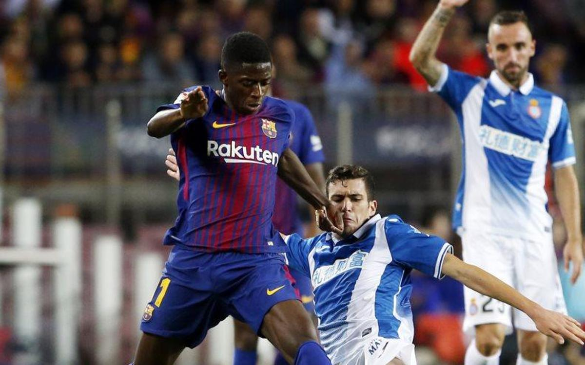 Dembélé debuts with an assist at Camp Nou