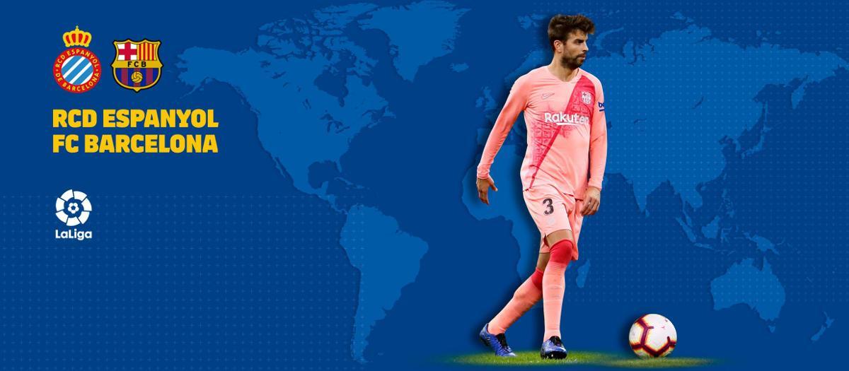 Cuándo y dónde ver el Espanyol - FC Barcelona