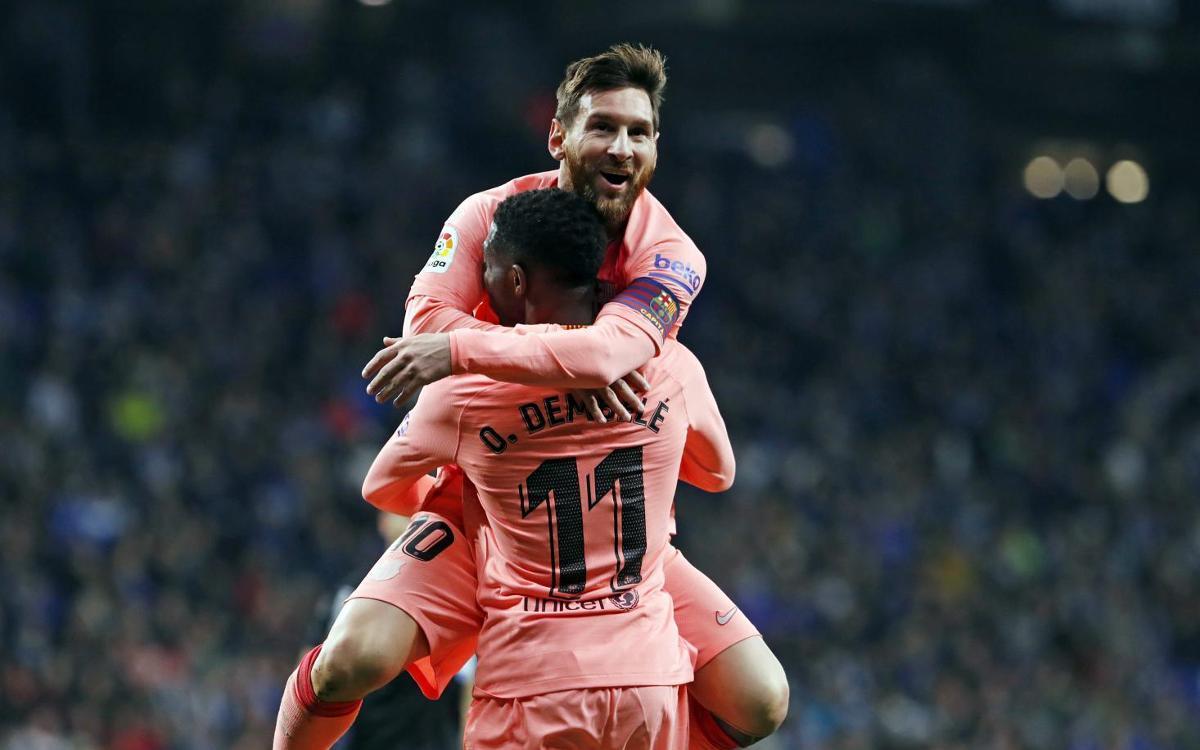 Messi tiñe el derbi de color de rosa (0-4)