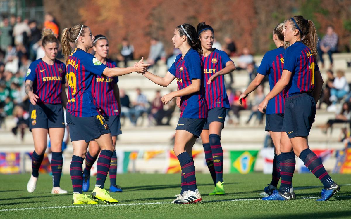 FC Barcelona Femení – Madrid CFF (Prèvia): Objectiu nou de nou