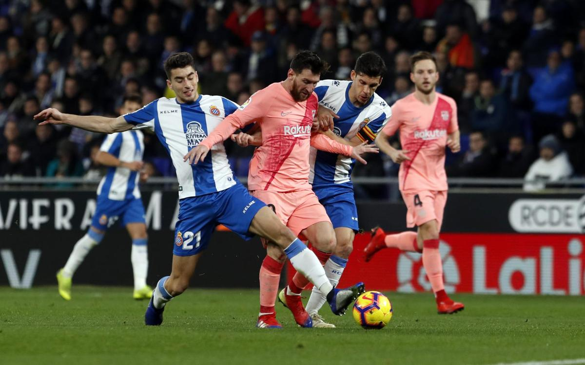Messi's exhibition in the derby