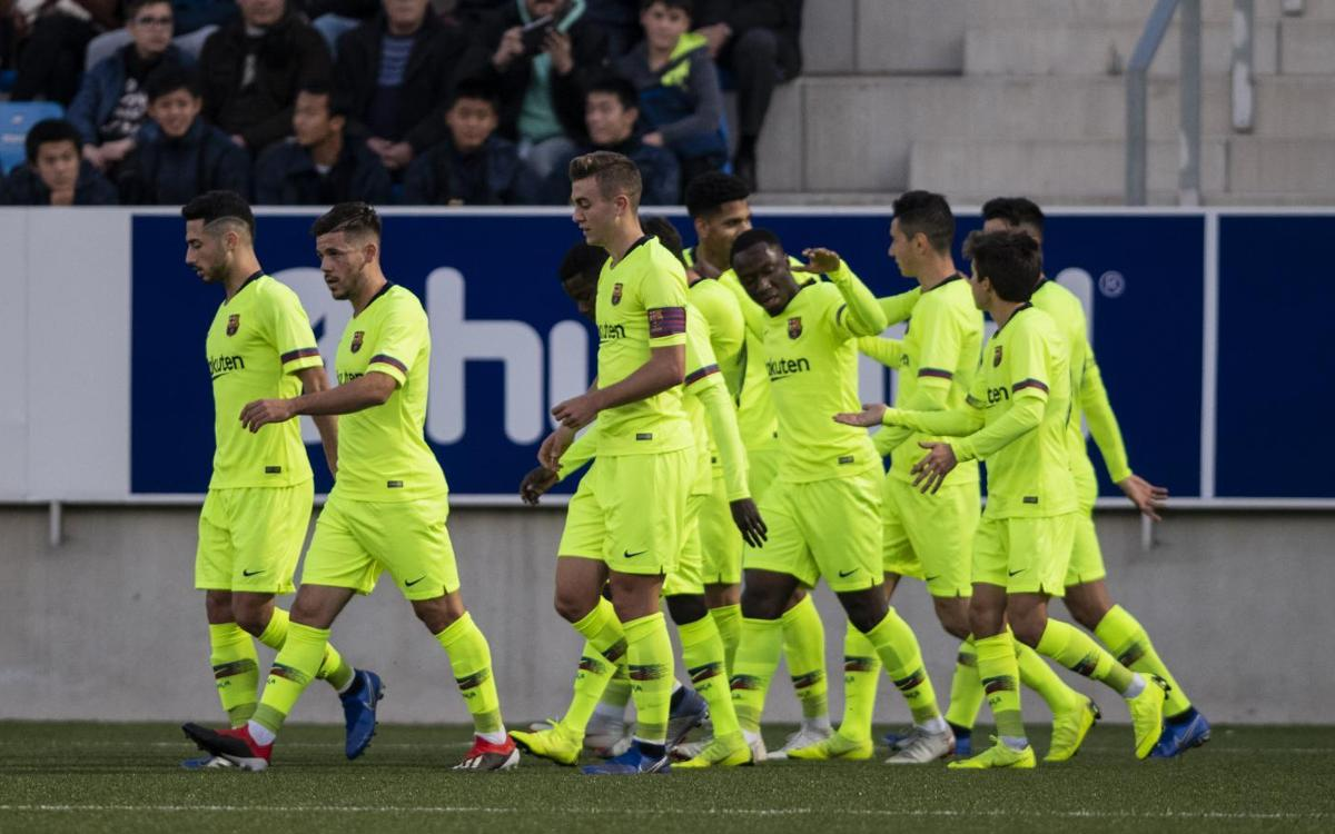 Badalona – Barça B: Victòria en camp contrari (1-2)