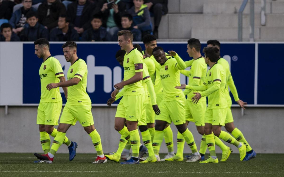 Badalona - Barça B: Victoria en campo contrario (1-2)
