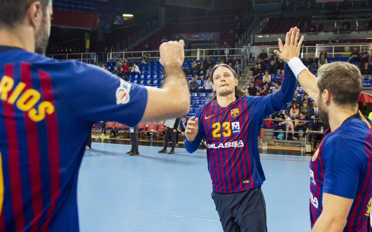 Barça Lassa – Bada Huesca: El Palau despide el balonmano del 2018