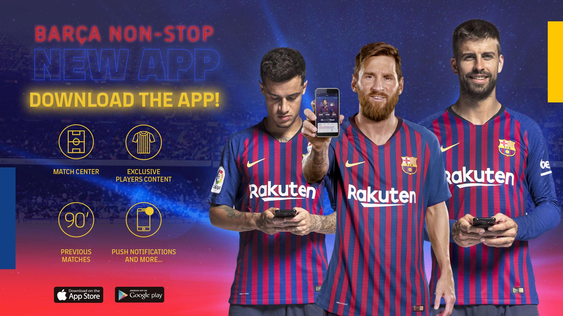 fc barcelona launches new website and app fc barcelona launches new website and app