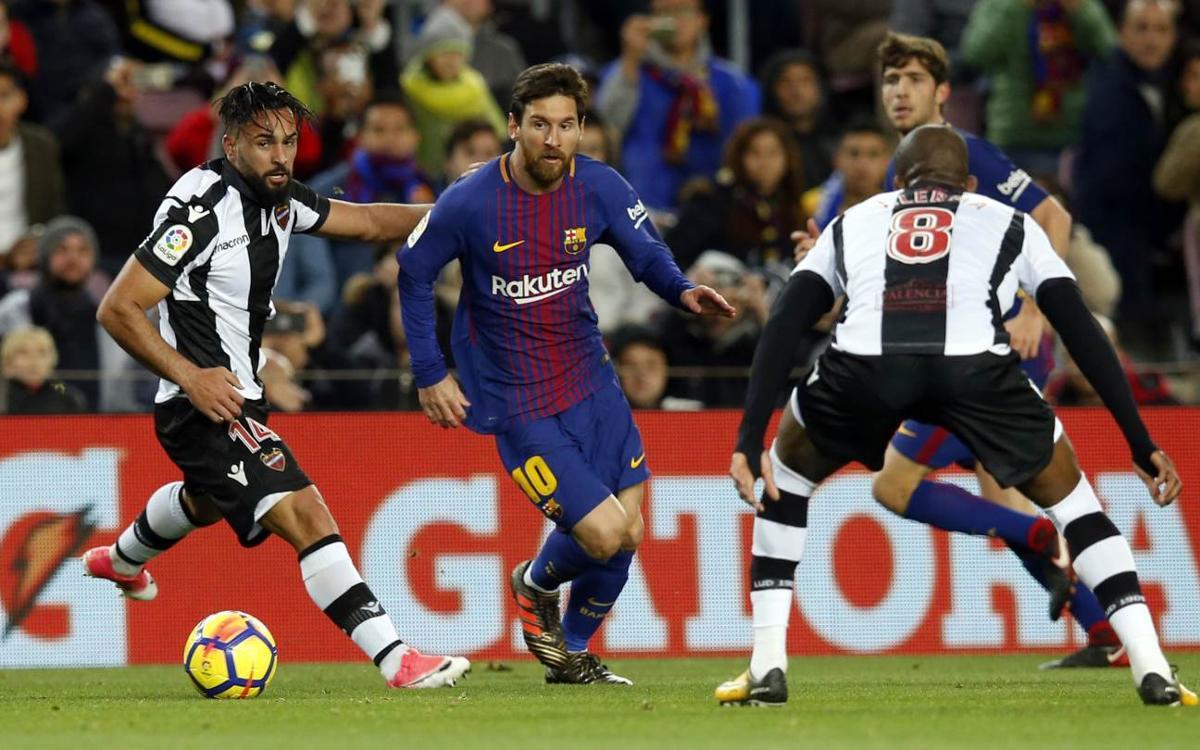 Levante - Barça, 8èmes de finale de la Coupe du Roi