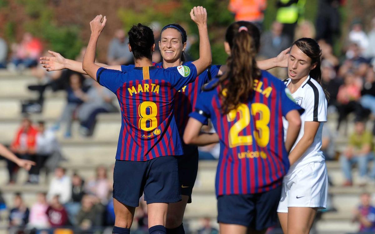 FC Barcelona Femení – EDF Logronyo (prèvia): A per la sisena