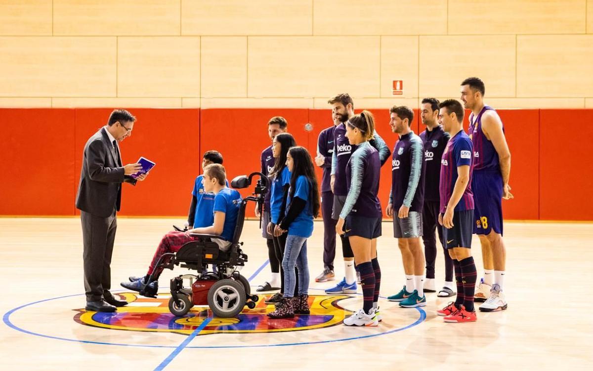 'Una Navidad para cambiarlo todo', el mensaje del Barça al mundo