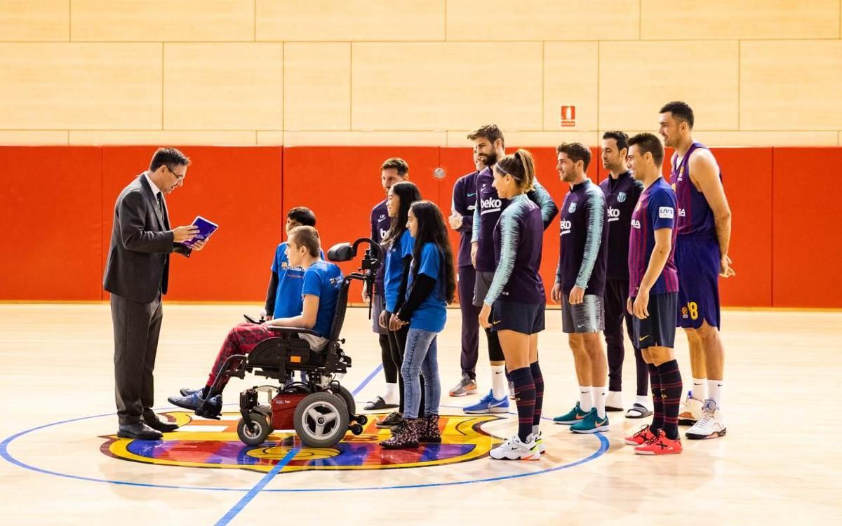 'Un Nadal per canviar-ho tot', el missatge del Barça al món