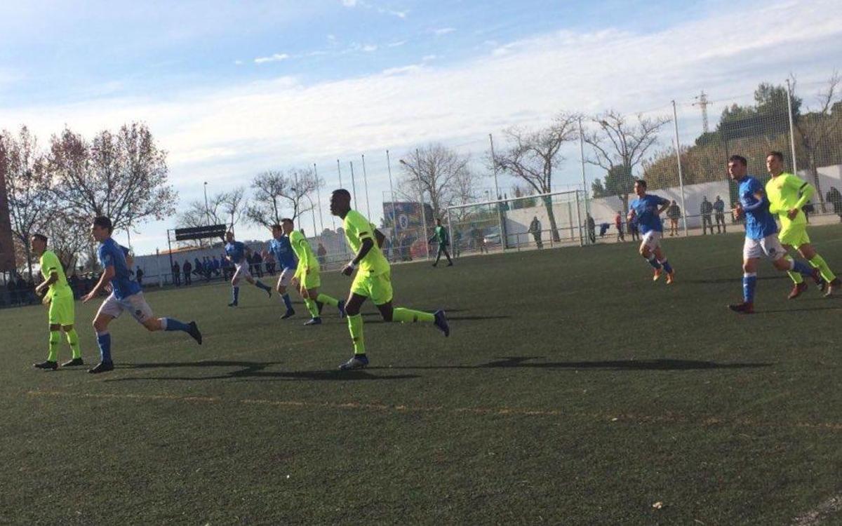 Lleida Esportiu – Juvenil A: Derrota per la mínima (1-0)